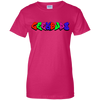 GeekBuds Skateboarding Logo Womens Custom 100% Cotton T-Shirt