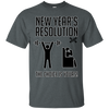 A New Year A New Choice, New Years Resolution Custom Ultra Cotton T-Shirt