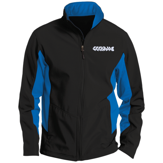 GeekBuds Tall Colorblock Soft Shell Jacket
