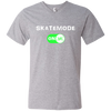 GeekBuds SkateNode ON! Men's V-Neck T-Shirt