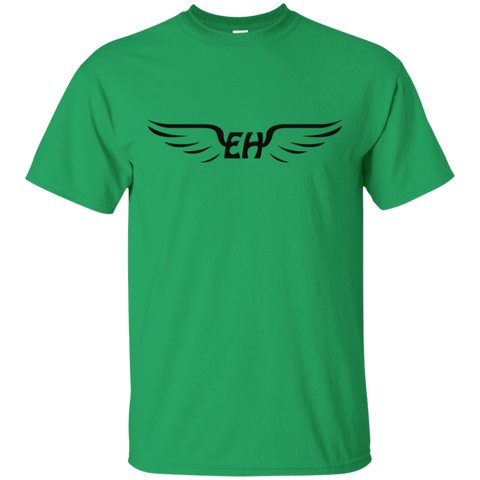 Emerald Hawk Logo Cotton T-Shirt