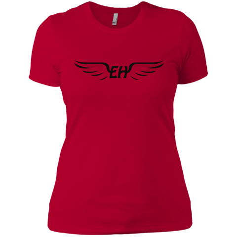 Emerald Hawk Womens Boyfriend Tee
