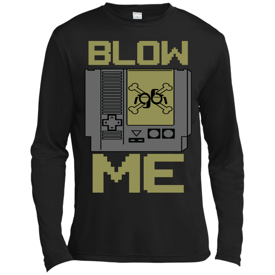 GeekBuds Blow Me Long Sleeve Moisture Absorbing Shirt