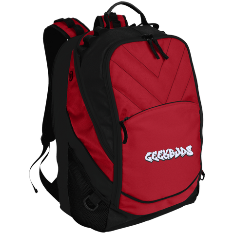 GeekBuds Embroidered Laptop Computer Backpack