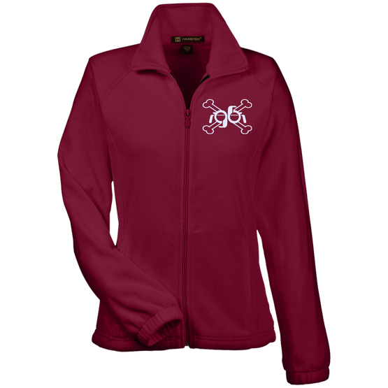 GeekBuds Cross Bones Logo Womens Fleece Jacket