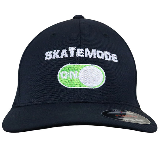 GeekBuds Skatemode on Flexfit Hat