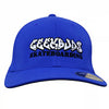 Geek Buds Official Flexfit brand Skateboarding Hat-Royal Blue
