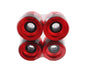 Zaza brand Red Cruiser Series 65mm 78a Skateboard Wheels