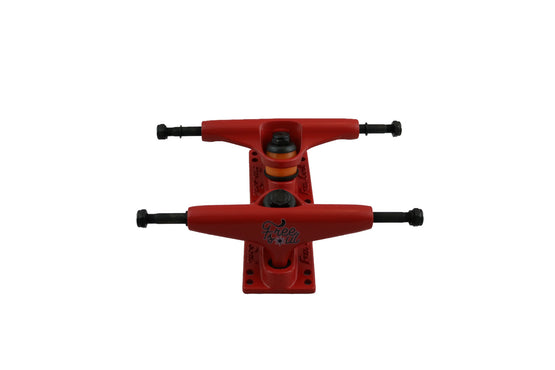 Free Soul Red Skateboard Trucks FS5""