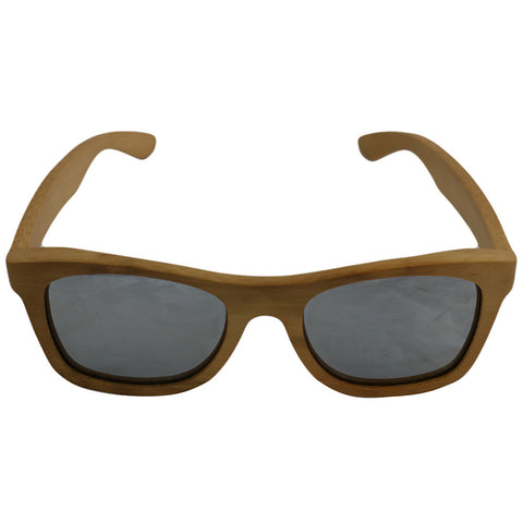 Emerald Hawk Brown Handmade Bamboo Sunglasses