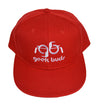 Snap back Red Geek Buds Hat - GeekBuds LLC