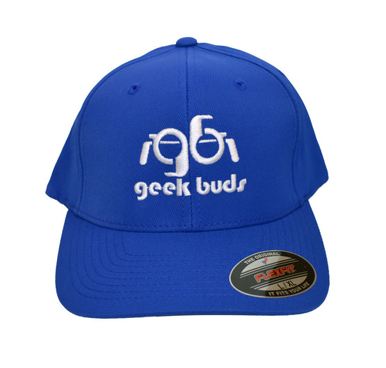 Flexfit Geek Buds Hat-Royal Blue - GeekBuds LLC