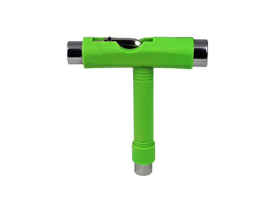 Geek Buds Lime Green All in One Skateboard Tool