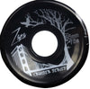 Zaza Brand Black Cruiser Series 65mm 78a Skateboard Wheels