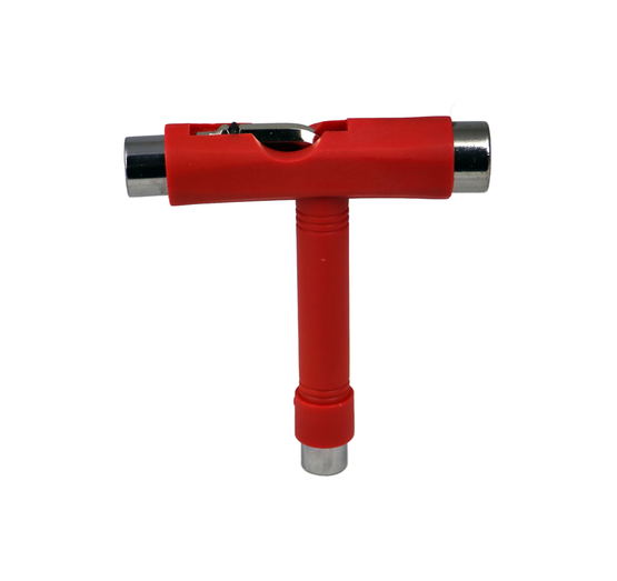 Geek Buds Red All in One Skateboard Tool