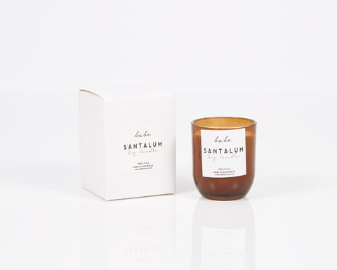 "Babe - ""Santalum"" Luxury Soy Candle"