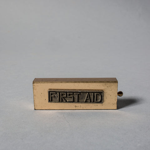 Vintage First Aid Kit Box