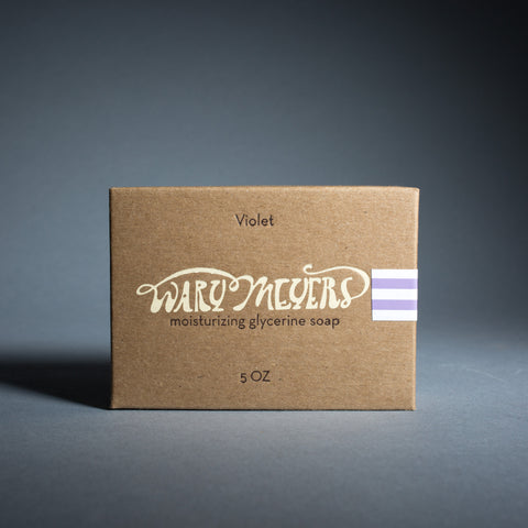 Wary Meyers Soap - violet