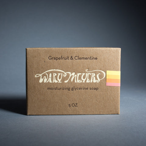 Wary Meyers Soap - grapefruit & clementine