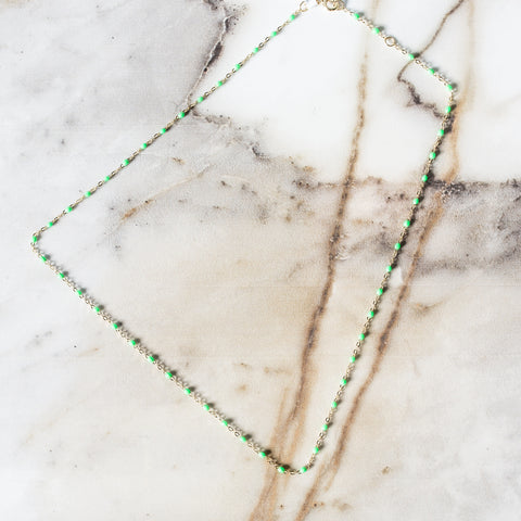 Gigi Necklace Mint