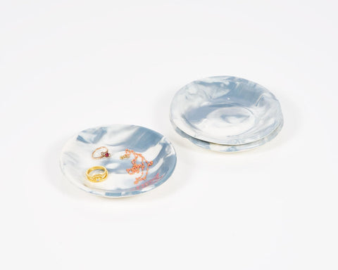 The Pursuits of Happiness Marbled Dish