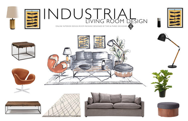 INDUSTRIAL DESIGN: AN ONLINE INTERIOR DESIGN ROOM PACKAGE
