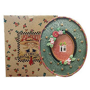 "At Home with Mary Engelbreit Oval Picture Frame (6"" x 8"" - 1998 Holiday Edition"