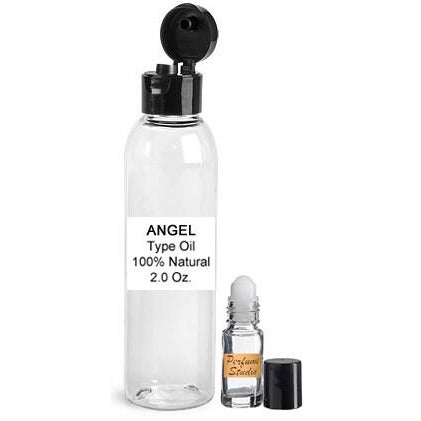 Wholesale Premium Perfume Oil  Inspired by Angel Perfume for Women in a 2oz Bottle with a free empty 5ml glass roll on