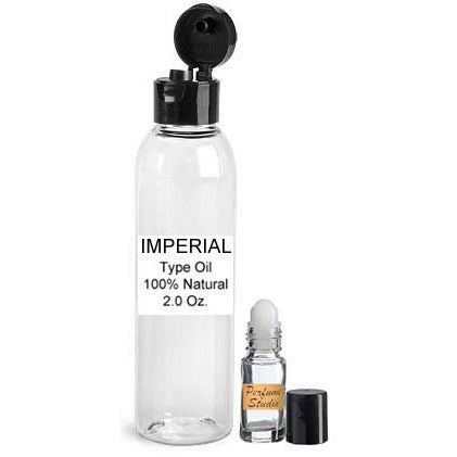 Wholesale Premium Perfume Oil  Inspired by Creed Imperial Millesime* in a 2oz Bottle with a free empty 5ml glass roller bottle