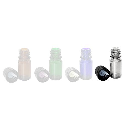 Perfume Studio 5ml Clear Glass Euro Dropper, 6-pack (CLEAR GLASS)