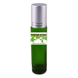 Premium Parfum Oil Blend- Similar to Royal Water Perfume 100% Pure Perfume Body Oil, Alcohol Free in a 10ml Green Glass Roller Bottle with Metal Ball and Silver Cap (Perfume Studio Oil Blend CF-106)