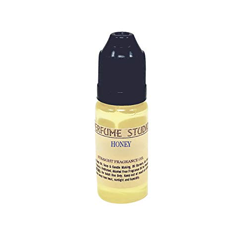 Perfume Studio Fragrance Oil for Soap Making, Candle Making, Perfume Making, Oil Burners, Air Fresheners, Body Mists, Incense, Hair & Skincare Products. Pure Parfum; 12ml (Honey)