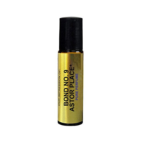 Perfume Studio Oil IMPRESSION of Bond 9 Astor Place; 10ml Roll On Glass Bottle, 100% Pure Undiluted, No Alcohol Parfum (Premium Quality Fragrance Version)