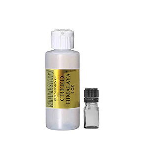 Premium IMPRESSION Perfume Oil Wholesale, SIMILAR Fragrance Accords to Famous Designer Brands - 100% Pure Undiluted, No Alcohol, Free 5ml Glass Euro Dropper (CREED HIMALAYA IMPRESSION, 4OZ)