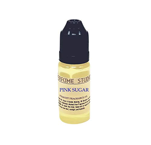 Fragrance Oil for Soap Making, Candle Making, Lotions, Perfume Making, Oil Burners, Air Fresheners, Body Mists, Incense, Hair & Skincare Products; 12ml - Our Version of (Pink Sugar)
