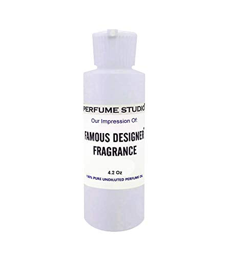 Perfume Studio Bulk Fragrance Oil Impression of Designer Fragrances; Top Quality Pure Parfum Oil Strength Undiluted & Alcohol Free. Comparable Scent to: (Ombre Leather Type, 4oz)
