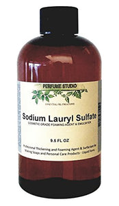 Perfume Studio Soap Making Supplies: Sodium Lauryl Sulfate (Liquid Form SLS); Personal Care Foaming Detergent Product and Professional Surfactant Raw Material – 9.5 OZ / 280 ML