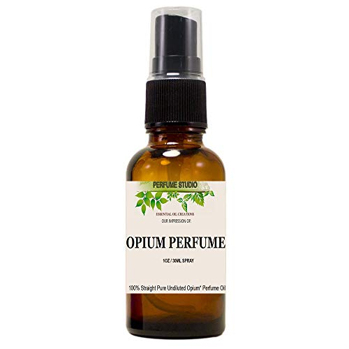 Opium Fragrance Oil: Perfume Studio Premium Quality Impression of Opium Red Perfume for Women; 100% Straight Parfum; Long Lasting (Opium Perfume Oil, 30ml Spray Bottle)
