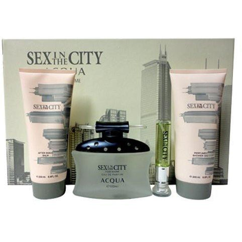 Sex in the City Acqua Men Gift Set 4 Pieces