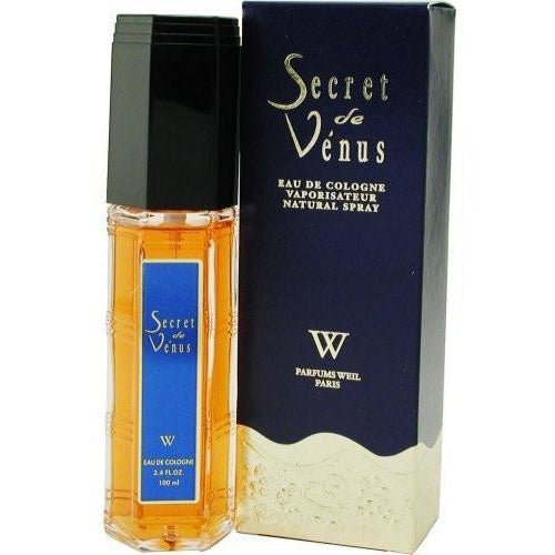 SECRET DE VENUS by Weil Paris NEW FORMULA, EAU DE COLOGNE SPRAY 3.4 OZ