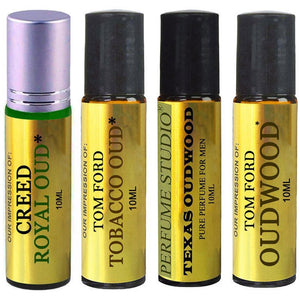 Perfume Studio IMPRESSION Perfume Oil; A Collection of our Top Selling Oud Perfume VERSION Oils with SIMILAR Fragrance Accords to Designer Brands - 100% Pure Undiluted, No Alcohol