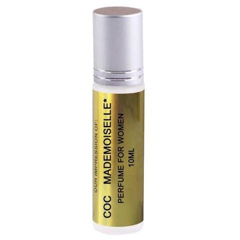 Coco Mademoiselle Oil IMPRESSION with SIMILAR Fragrance Accords, 10ml Roller Bottle
