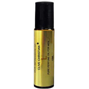 Superior IMPRESSION of *Clive_Christian L For men, 100% Pure, No Alcohol Top grade Parfum Oil,  (10ML ROLLER BOTTLE)