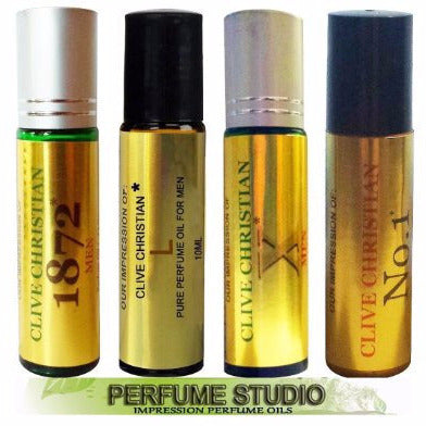 4 Piece Roll-on Set VERSION of Clive_Christian Perfume for Men