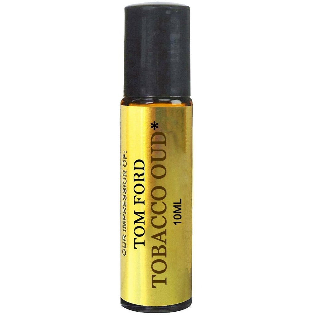 Tobacco Oud Oil. IMPRESSION of -{Tom_Ford_Tobacco_Oud}* with SIMILAR Perfume Notes, 10ml Amber Glass Roller, Black Cap; 100% Pure