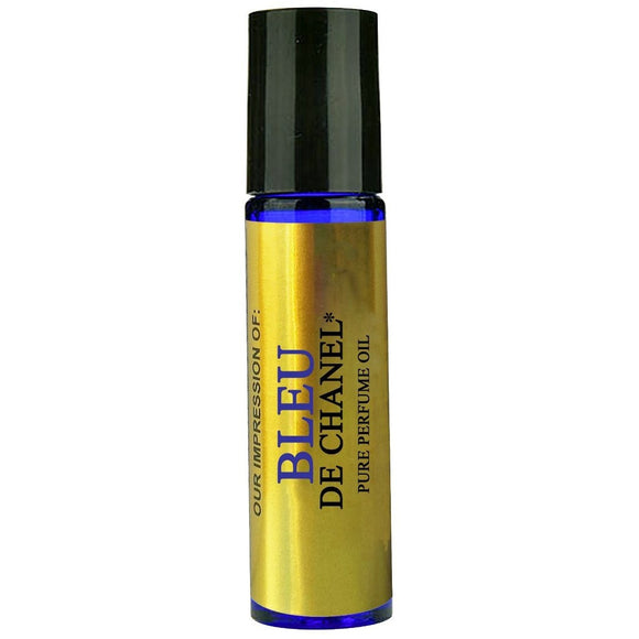 Perfume Studio Premium IMPRESSION Perfume Oil - SIMILAR to *Blu_Di_Channel*_{ Men} - 100% Pure Undiluted, No Alcohol Premium Parfum Oil