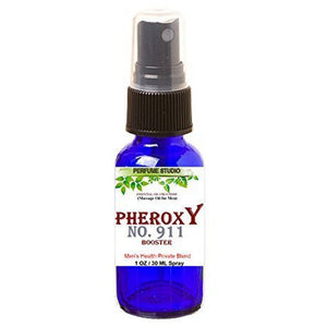 PheroxY 911 Booster Essential Massage Oil for Men. Natural Enhancement ED Oil