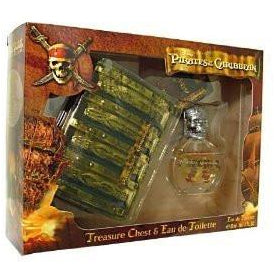 PIRATES OF THE CARIBBEAN by Air Val International SET-EDT SPRAY 1.7 OZ & PIRA...