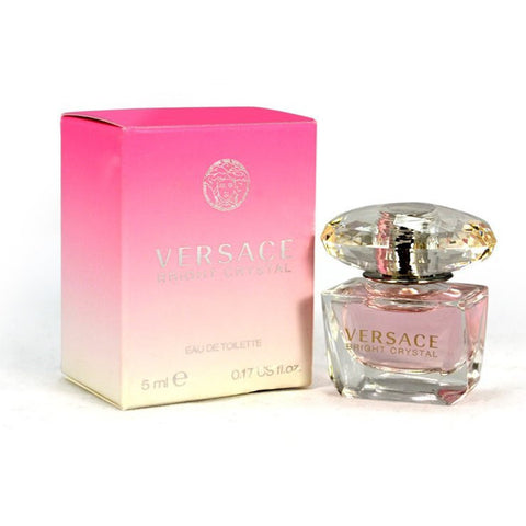 Bright Crystal Perfume for Women By Gianni Versace. Miniature Eau De Toilette 5 ML SPLASH
