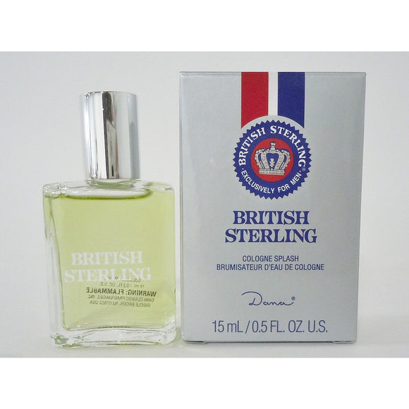 British Sterling 0.5 oz Mini Cologne for Men